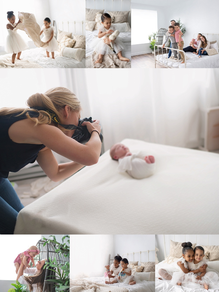Newborn and Lifestyle Room at the New England Photo Collective Photography Spaces - Warwick, RI